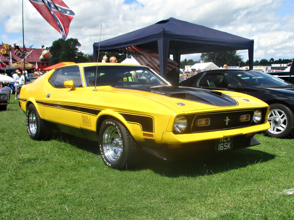 347 ford mustang mach 1 sportsroof 1st gen 4th facelift 1972