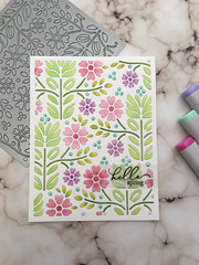 Pastel Flowers by Simon.Says.Stamp