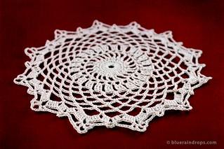 Crochet Lace Doily | by elsa.blueraindrops