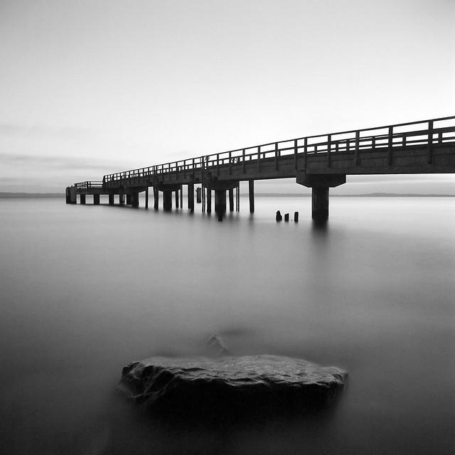 seabridge with stone