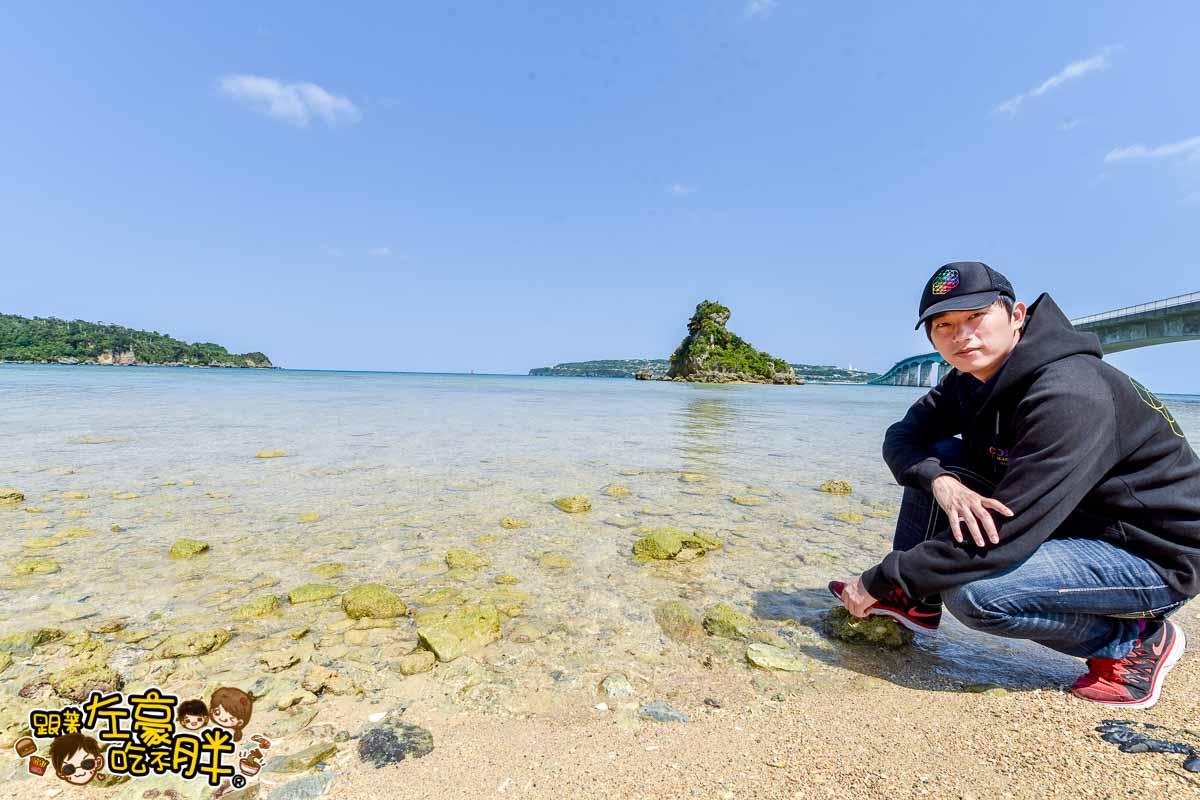 沖繩旅遊古宇利大橋-1