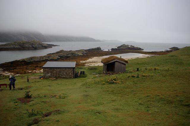 Handa Island visitor centre