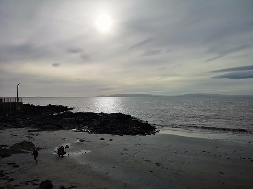 galwaybay ireland sea sky wintersun coast cameraphone huaweip20pro salthill
