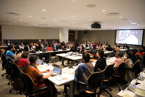 """Khadi Goes Global: Empowering Women through Sustainable Production and Consumption"" Side Event on the Occasion of 63rd Session of the Commission on the Status of Women at the United Nations. 