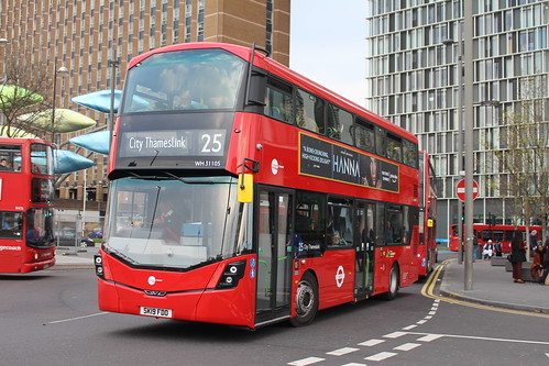 Tower Transit WH31105 on Route 25, Stratford