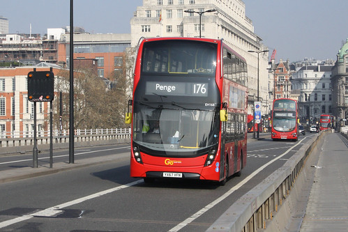 Go-Ahead London EH168 YX67VFN