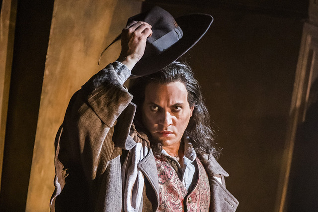 Erwin Schrott as Méphistophélès in Faust, The Royal Opera © 2019 ROH. Photograph by Tristram Kenton