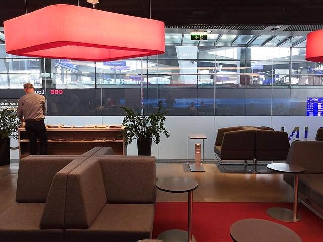 ÖBB Lounge Wien Hauptbahnhof