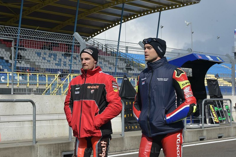 Chaz Davies & Leon Camier