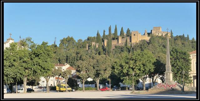 Camino de Santiago. Castelo dos templarios. Tomar.