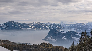 Winter view of Lake Lucerne   by Stefsan (on and off)