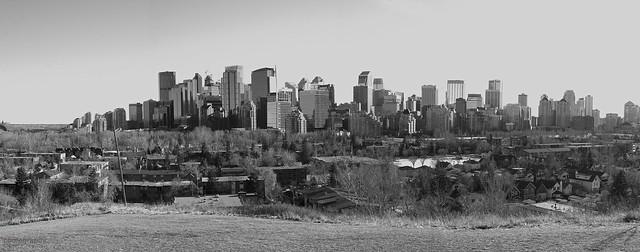 Calgary skyline January 2019