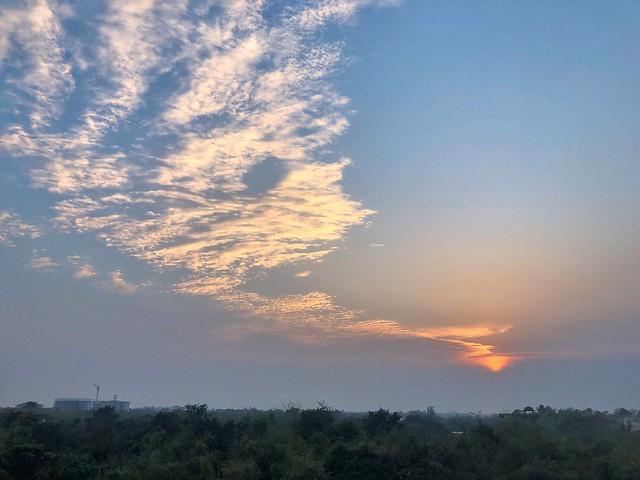 Sunset & Cloud