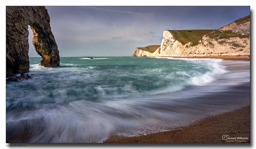 Incoming Tide, Durdle Door | by jeremy willcocks