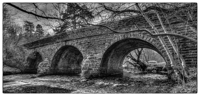 Beldon Burn bridge