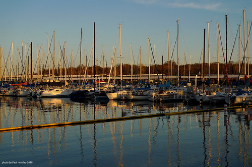 sailboats at sunset | by pvh photo