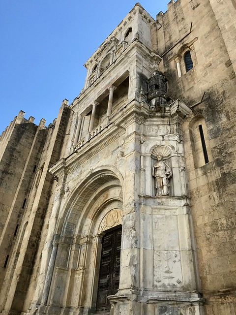 The Old Cathedral of Coimbra (Sé Velha), Portugal