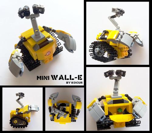 Mini Wall-E   by kocurvelox