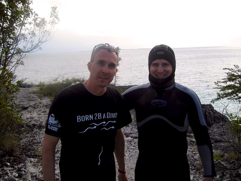 Bonaire Jan 25th 2012 Mike Depinto & Roger Muller