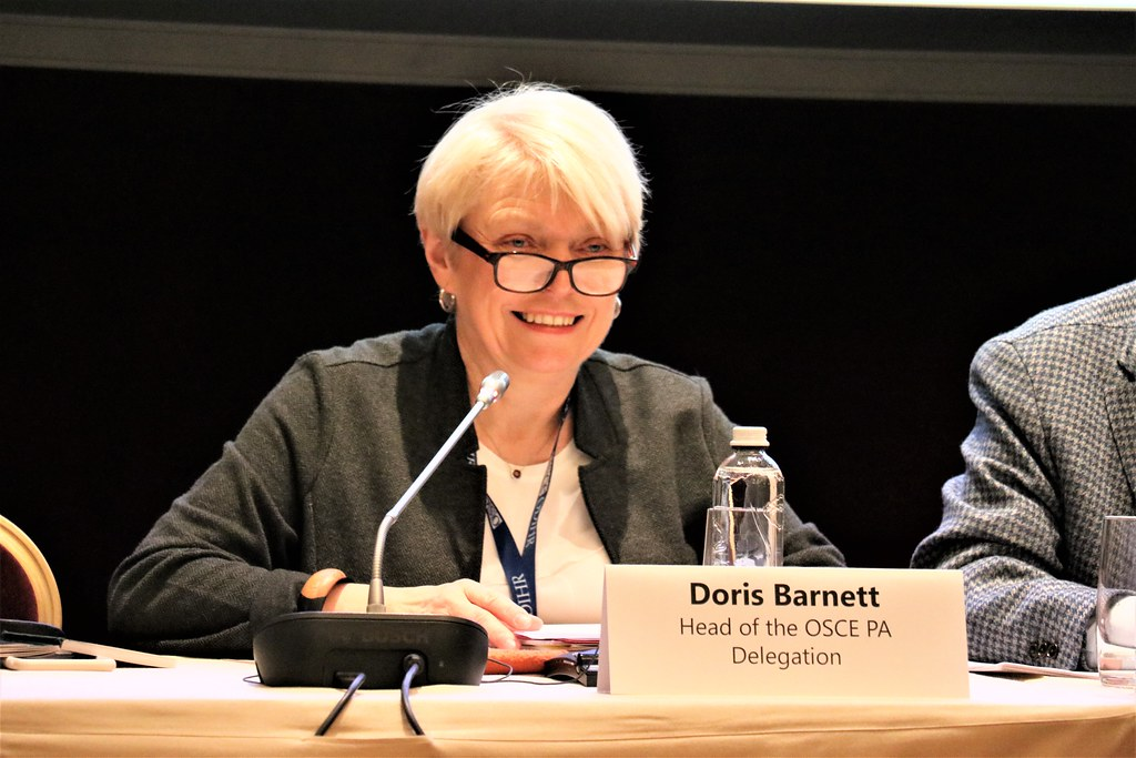 Head of OSCE PA Delegation Doris Barnett, Kyiv, 29 March 2… | Flickr