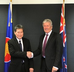Working visit of the ASEAN Secretary-General of ASEAN Dato Lim Jock Hoi to New Zealand, 13 – 15 February 2019