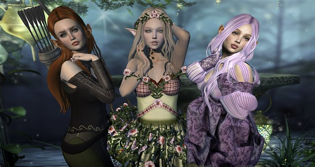 Elves 'R Us! (Strawberry Singh mesh head challenge)