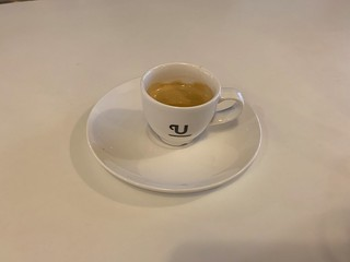 Union Coffee in the BA Lounge at Heathrow T5