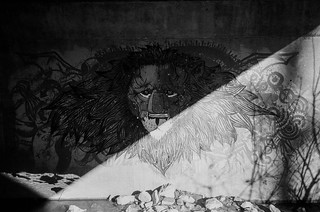 Lion graffiti | by Jim Grey