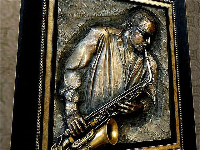 Savoy Ballroom & Swing Era Museum -Jazzman
