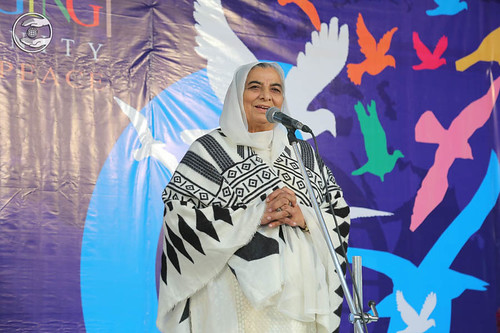 Member Executive Committee SNM, Raj Vasdev Sing, expresses her views