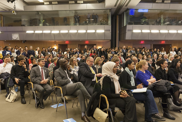 Fri, 03/08/2019 - 16:14 - 030819 - WASHINGTON DC., Managing Director and Chairwoman of the IMF Christine Lagarde and Interim WBG President Kristalina Georgieva engage in a conversation on their pioneering leadership and challenges they and other women have faced, the economic issues they're dealing with and how they prioritize gender both through operations and in walking the talk within the IMF and WBG.  Photo:  World Bank / Simone D. McCourtie