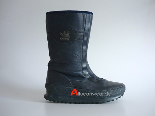 1983 VINTAGE ADIDAS LECH WINTER BOOTS / SPORT SHOES / HI TOPS | by aucwd
