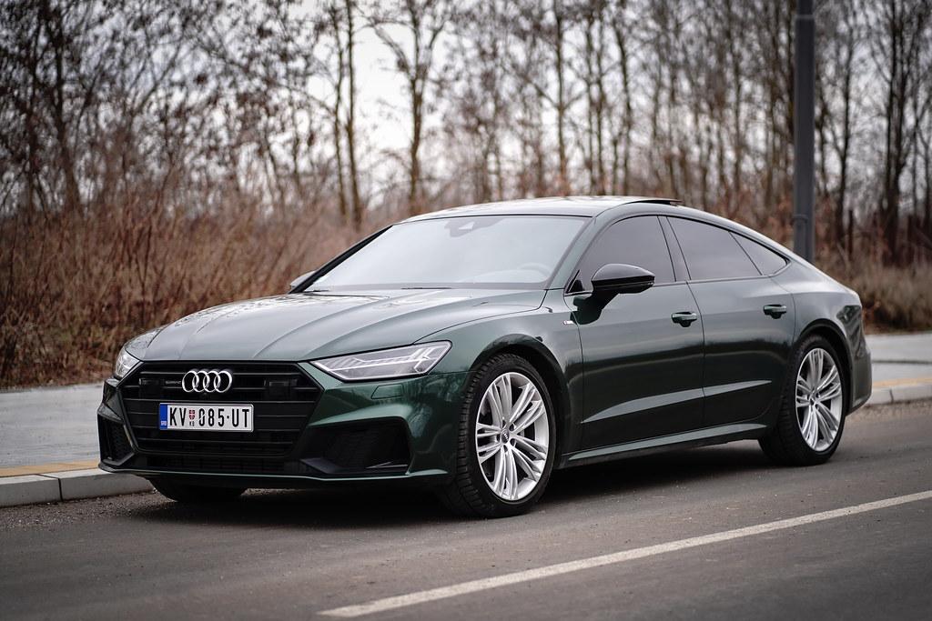 Audi A7 Verdant Green Mr Rotor Flickr