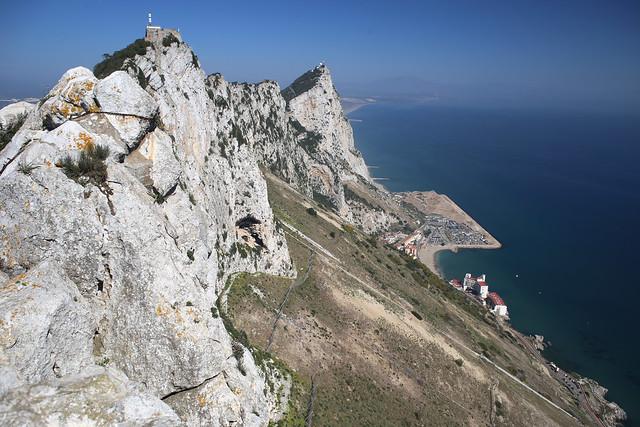 The east side, Gibraltar