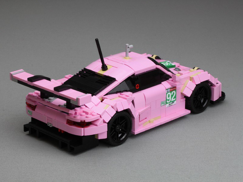 Porsche #92 from Le Mans 2018 - now with building instructions