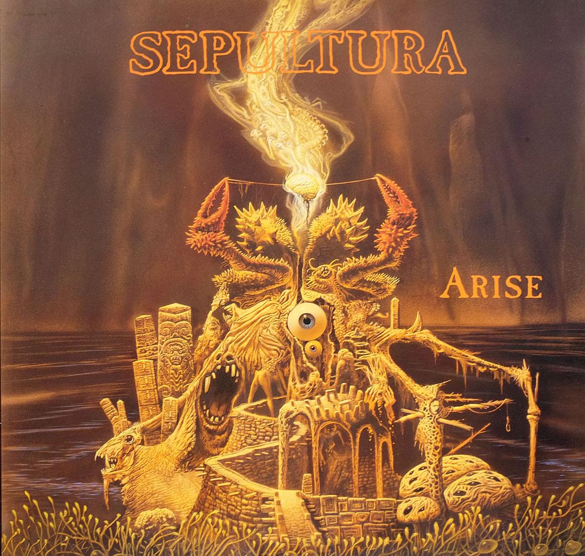"""SEPULTURA ARISE OIS 12"""" LP ALBUM VINYL"""