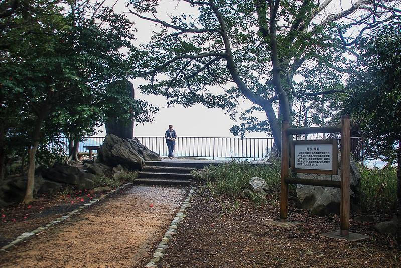 金崎公園最高點--月見御殿 1