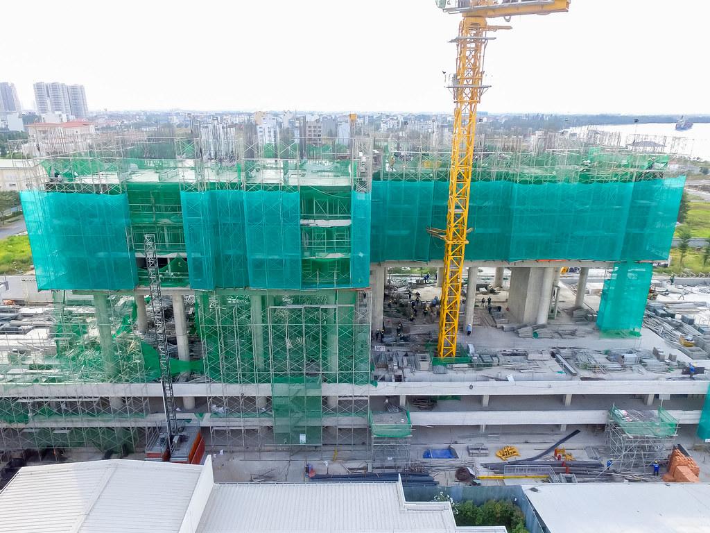 Tiến độ xây dựng căn hộ One Verandah 03-2019 1