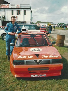 John Liddle with 33 at Castle Combe | by alfaracer63