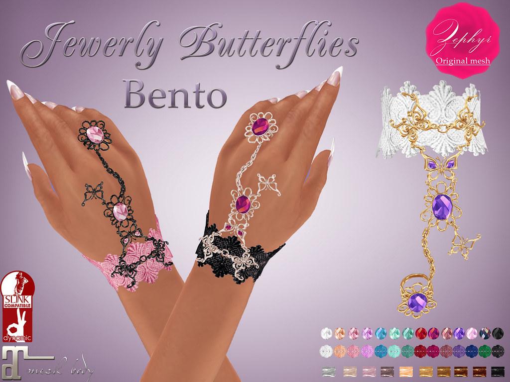Zephyr Jewelry Butterfly (Bento)