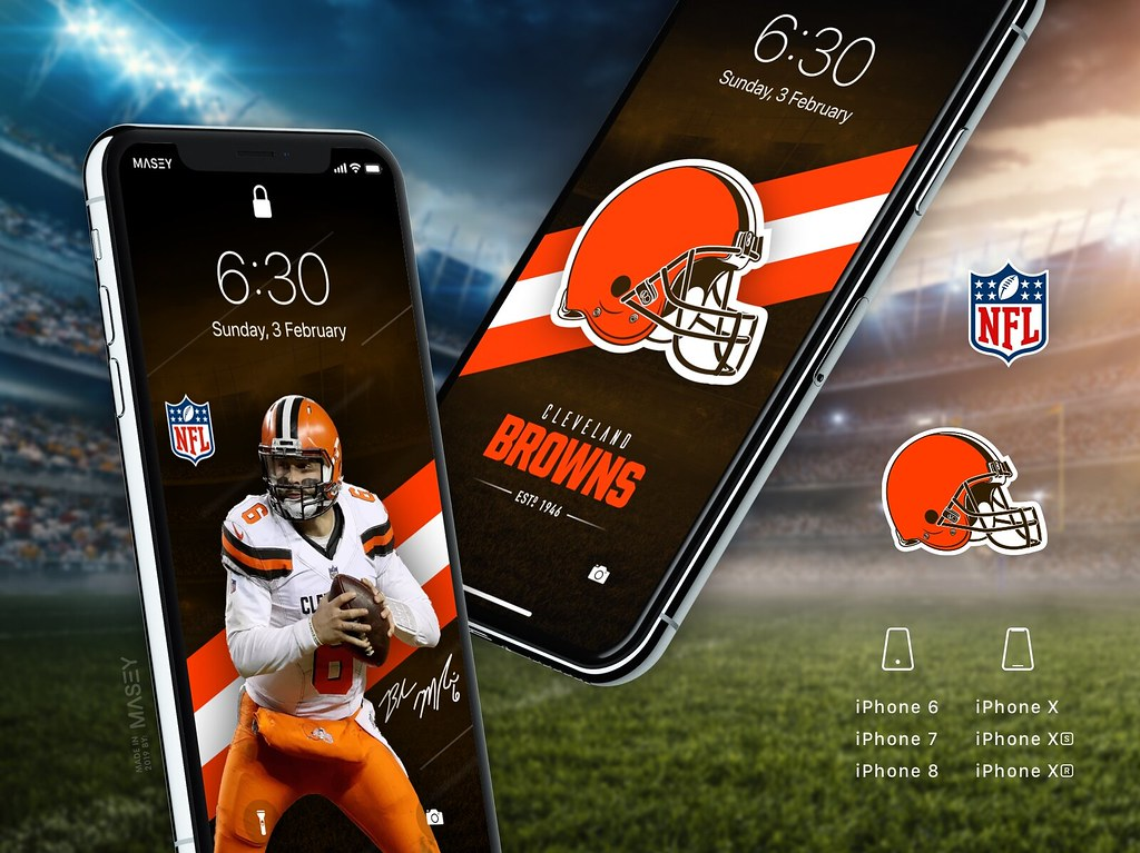 Cleveland Browns Iphone Wallpapers Iphone X Xs Xr Also Wo