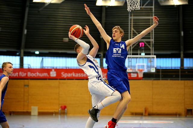 VFL Astro Stars Bochum - SW Baskets Wuppertal U16 Regionalliga Basketball 2018/2019