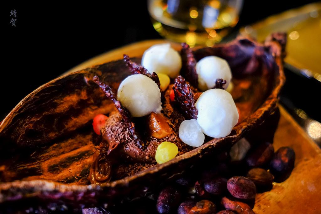 Peruvian Cacao dessert