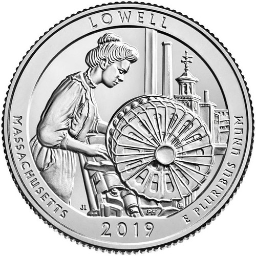 Lowell-National-Historical-Park-Quarter | by Numismatic Bibliomania Society
