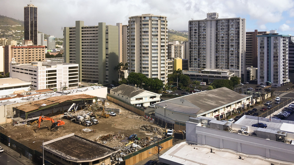 New construction - Azure Tower going up