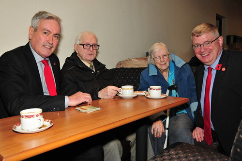 At 'Thank you' coffee morning in Prestonpans | by Iain Gray MSP