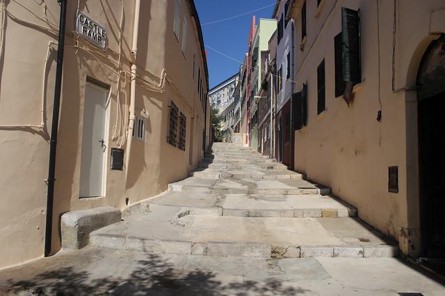 Steps to Gibraltar Upper Rock