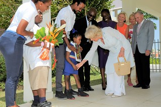 The Duchess of Cornwall visits The Derrick Smith School & Vocational Centre (3) | by barbadosgovernmentinformationservice