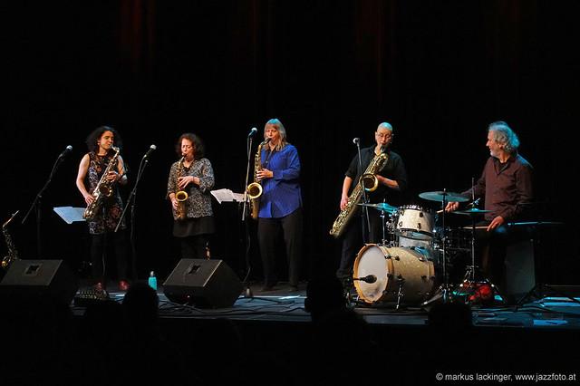 The Tiptons Saxophone Quartet & Drums