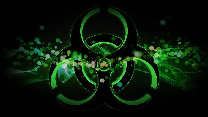 Обои радиация, знак, пятна картинки на рабочий стол, фото скачать бесплатно